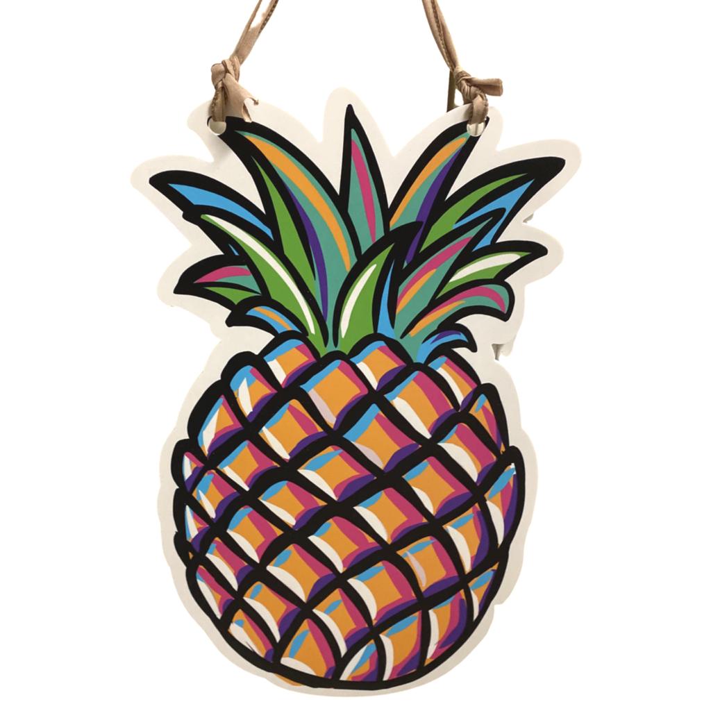 Art By Allie Pineapple Door Hanger