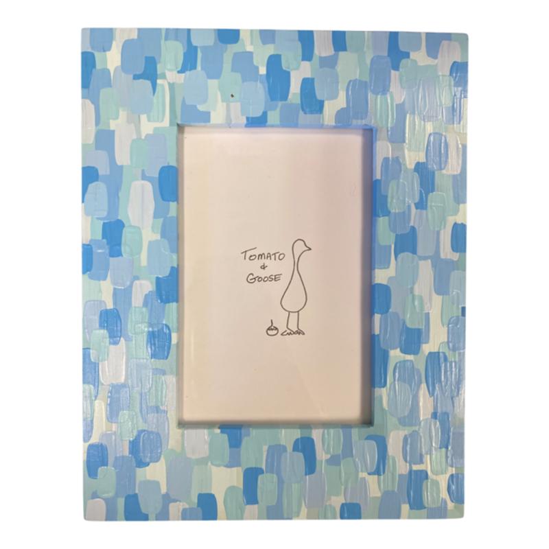 Tomato + Goose Baby Blue Mosaic Frame