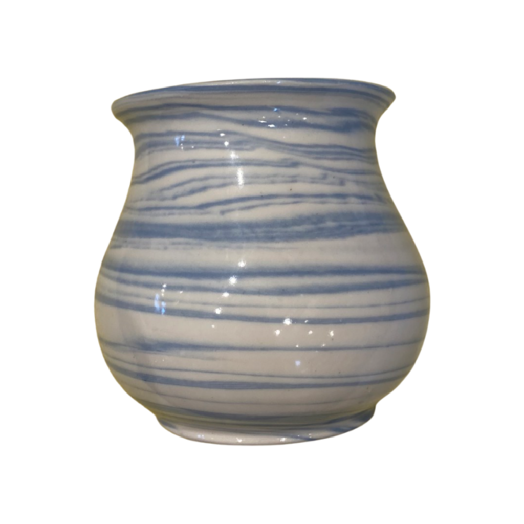 Casey Willems Blue Swirl Vase