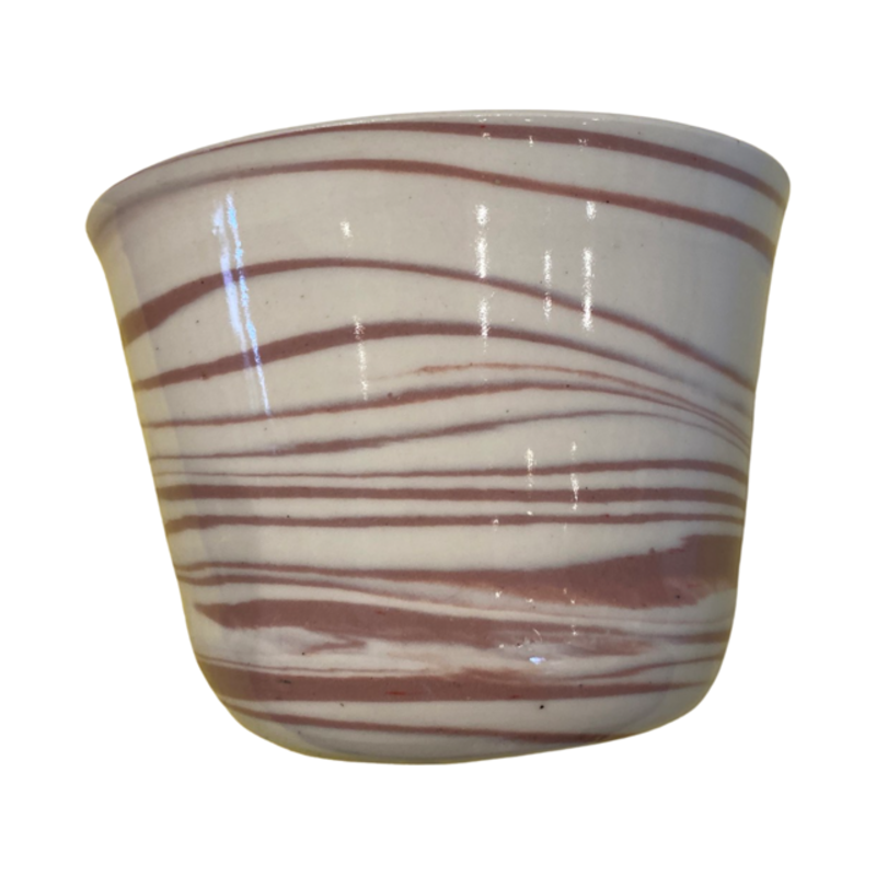 Casey Willems White/Pink Pot