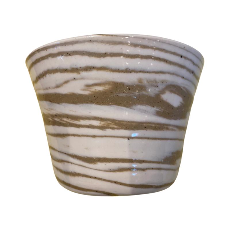 Casey Willems White/Tan Pot