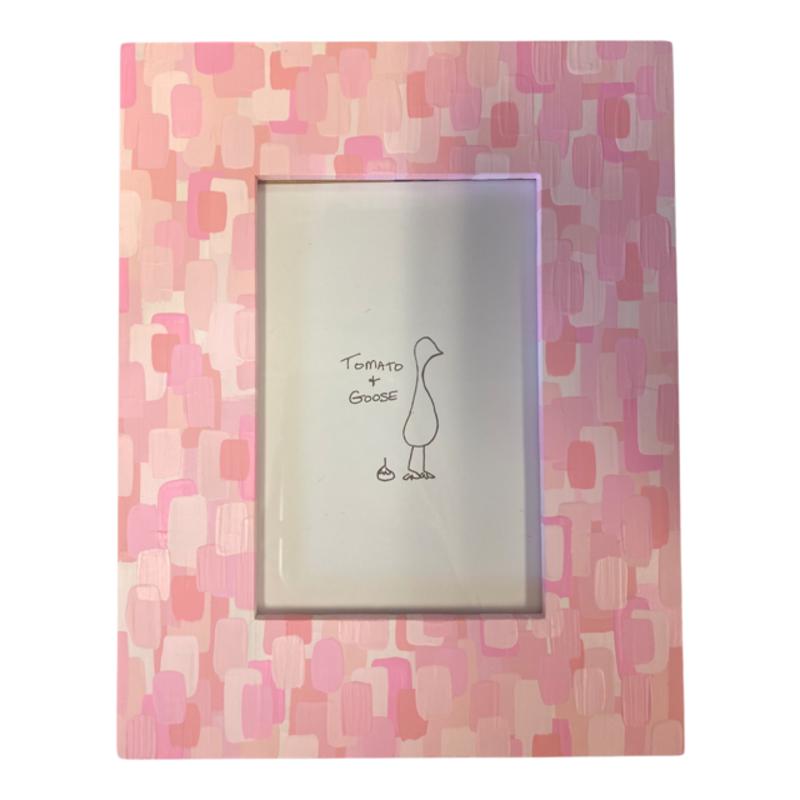 Tomato + Goose Baby Pink Mosaic Frame