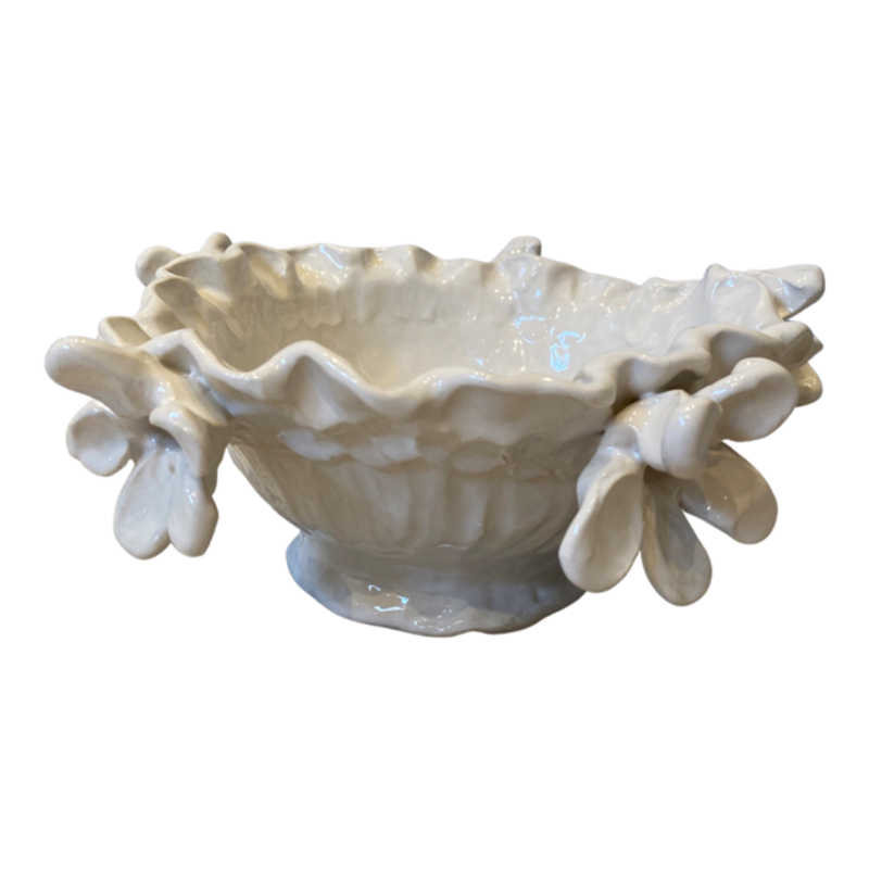 LiBird Studios Small Bowl with flowers