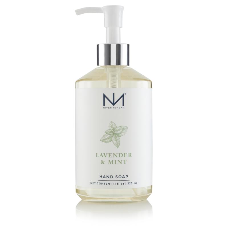 Niven Morgan Lavender & Mint Hand Soap