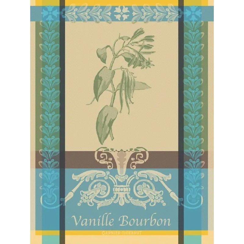 """Garnier Thiebaut Vanille Bourbon Eden Kitchen Towel 22""""x30"""", 100% Cotton"""