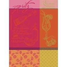 """Garnier Thiebaut Spritz Rosso Kitchen Towel 22""""x30"""", 100% Cotton"""