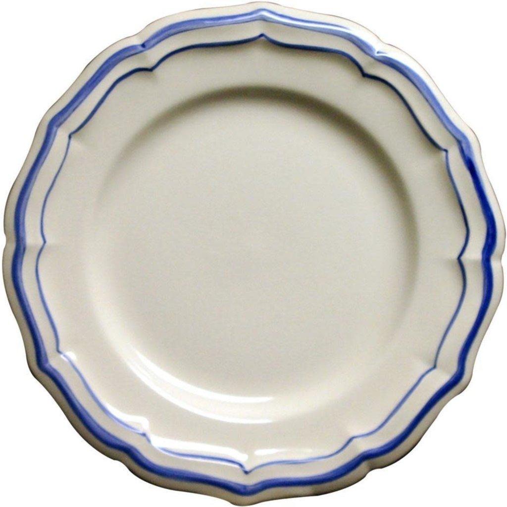 Gien Canape Plate Filet Bleu