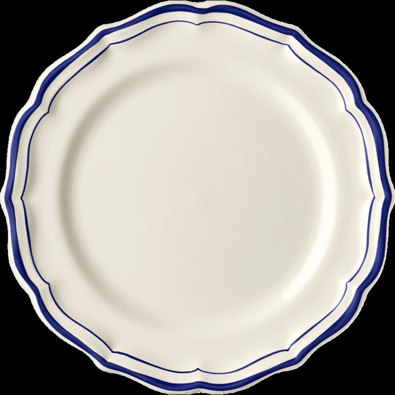 Gien Dessert Plate Filet Cobalt