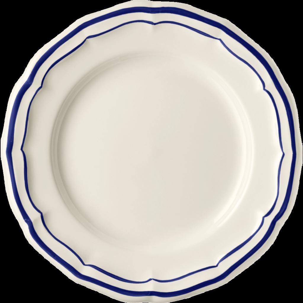 Gien Canape Plate Filet Cobalt