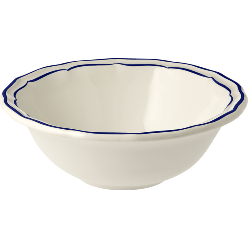 Gien Cereal Bowl XL Filet Cobalt