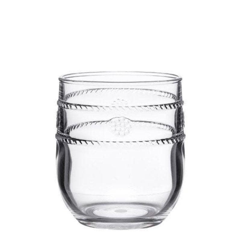 Juliska Tumbler Isabella Acrylic Clear 4'' H