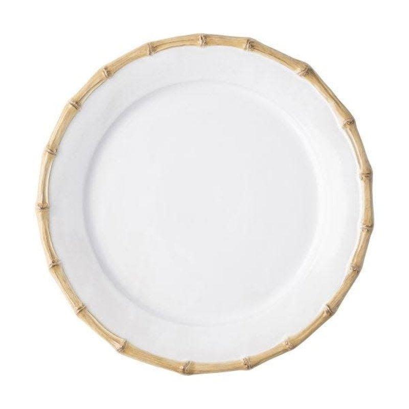 Juliska Dessert Salad Plate Bamboo Natural 9'' W