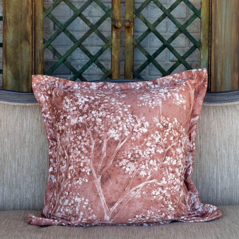 Park Hill Coral Hydrangea Pillow