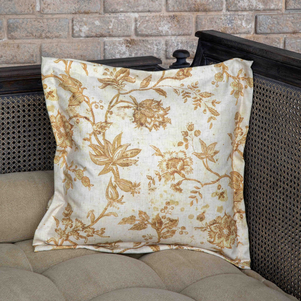 Park Hill Chinoiserie Floral Pillow