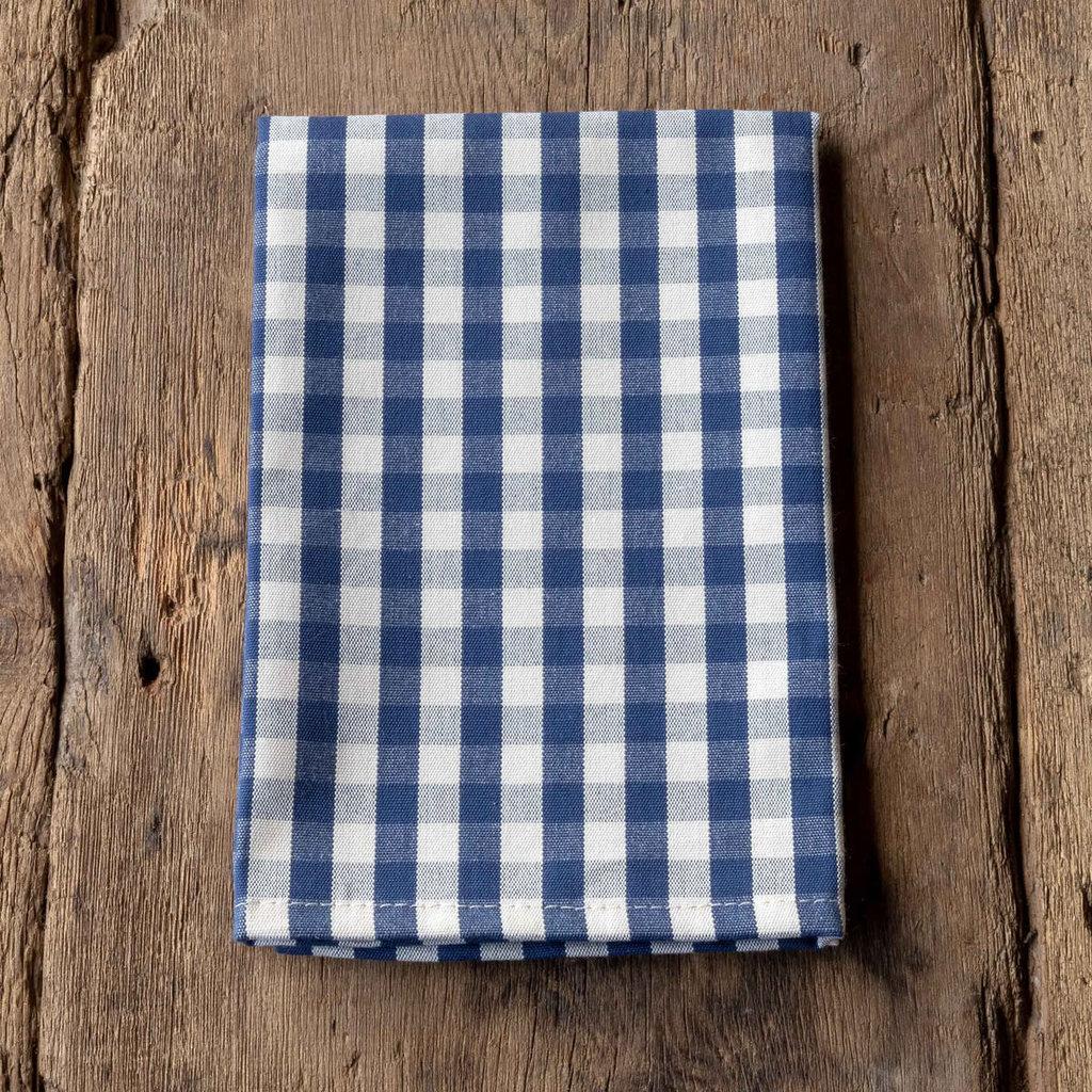 Park Hill Navy Gingham Cloth Napkin