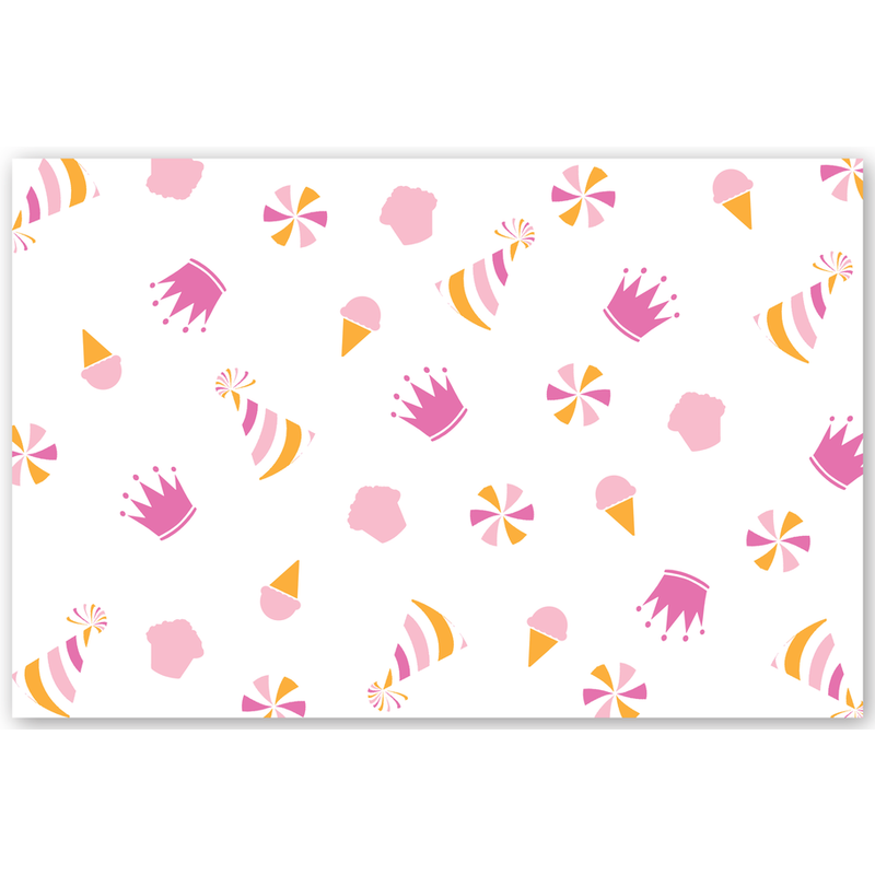 Maison de Papier Party Hats Pink Placemat