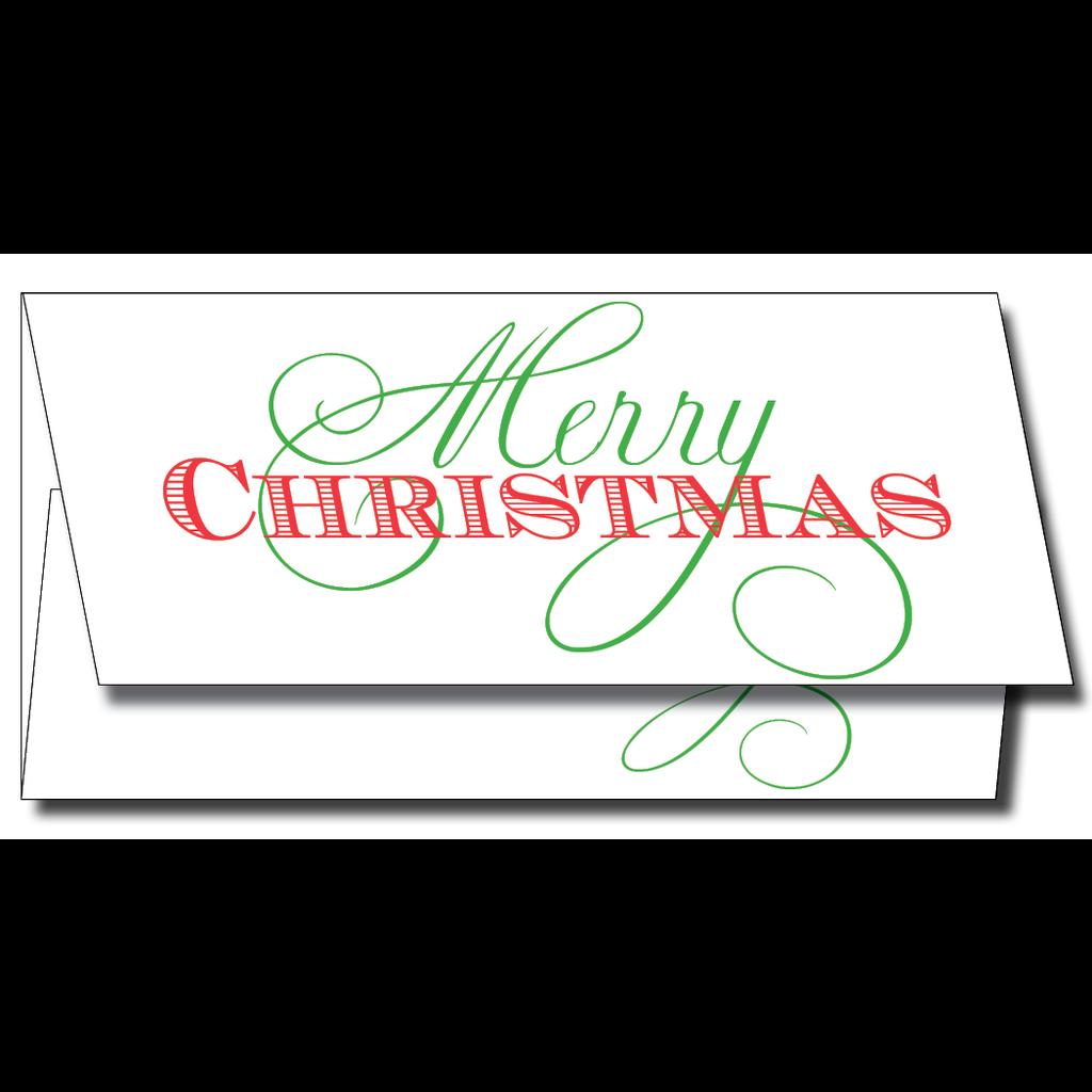 Maison de Papier Merry Christmas Currency Enclosure