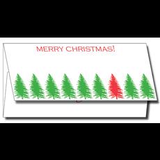 Maison de Papier Christmas Treeline Currency Enclosure