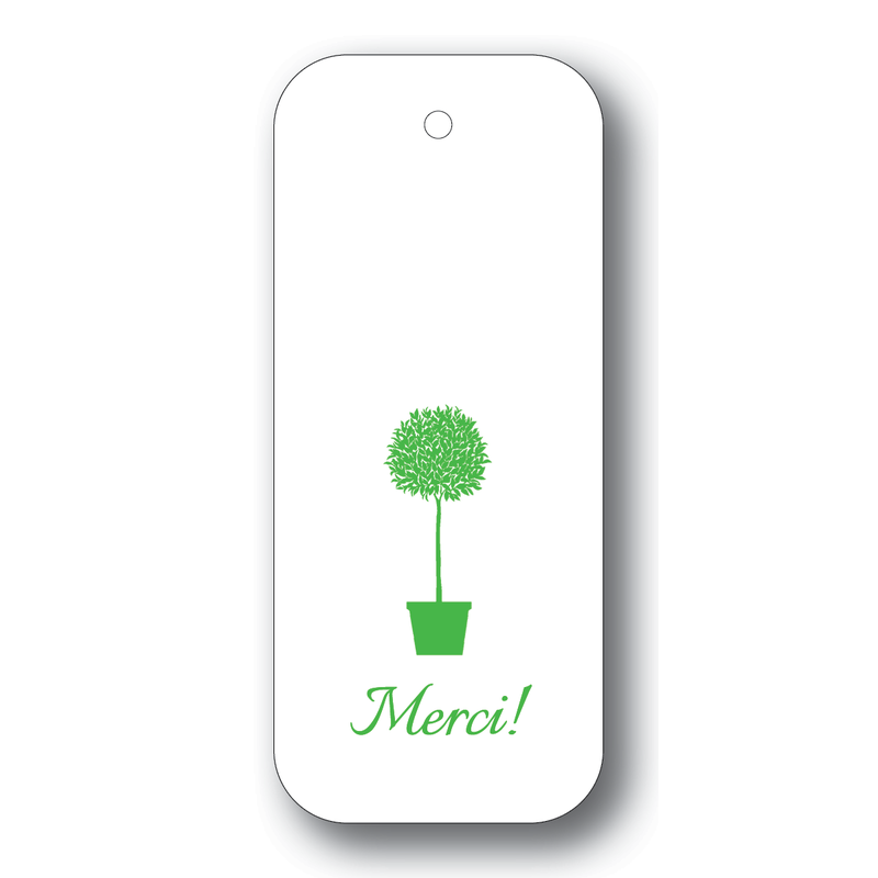 Maison de Papier Topiary Merci String Gift Tag