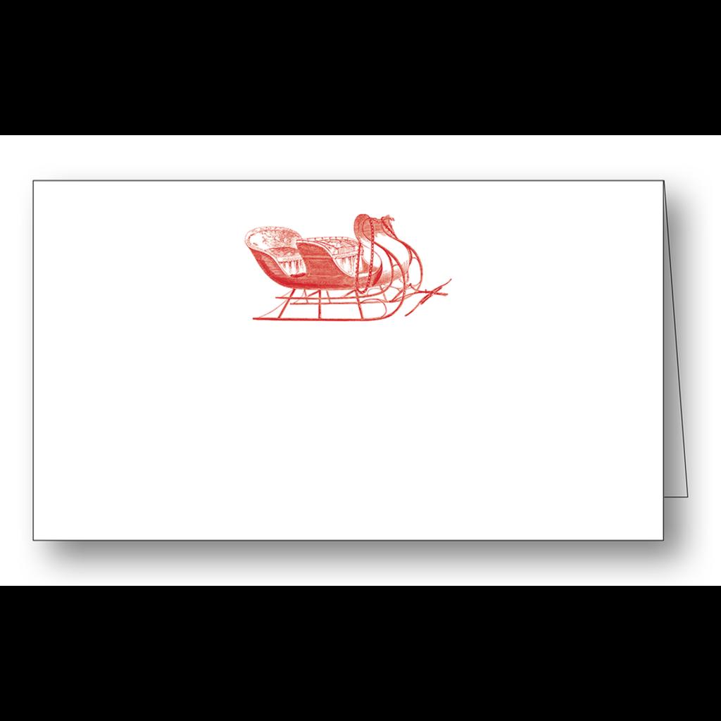 Maison de Papier Sleigh Place Cards