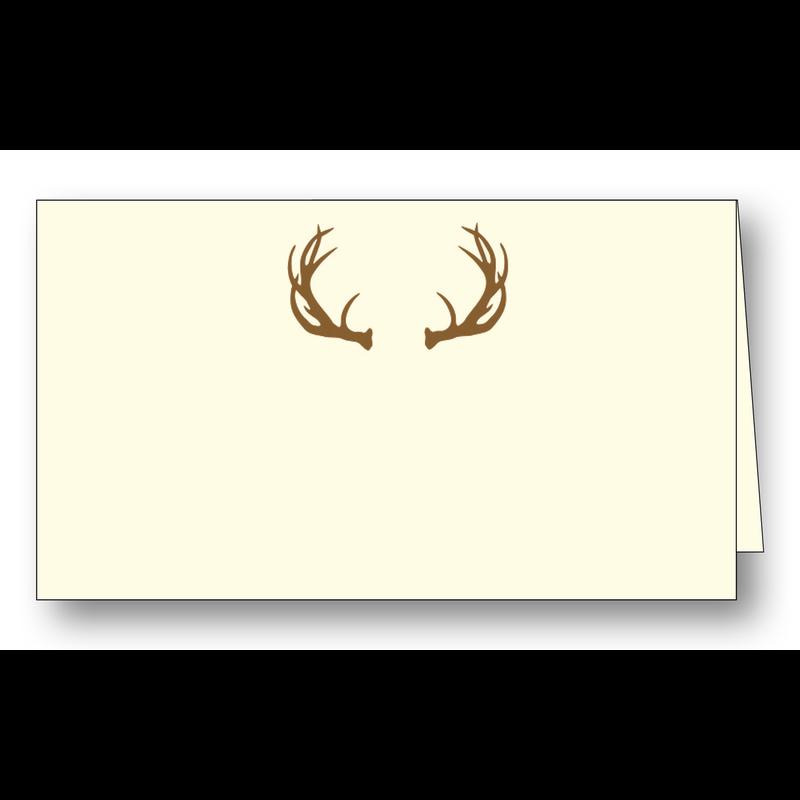 Maison de Papier Antlers Place Cards