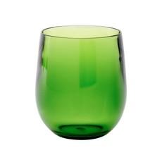 Caspari Caspari Crystal Acrylic Tumbler Emerald