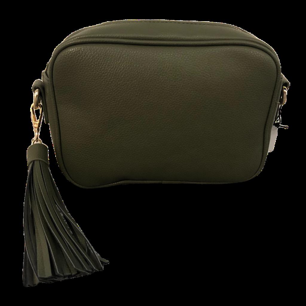 AhDorned Army Zip Top Bag w/ Tassel