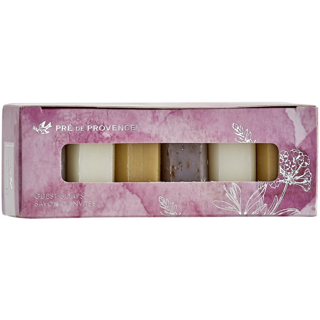 European Soaps Pre de Provence Guest Gift Set of 6 (Pink)