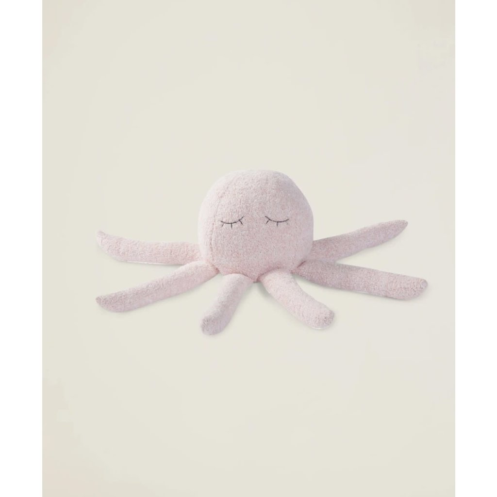 Barefoot Dreams Cozy Chic Octopus Buddie Dusty Rose