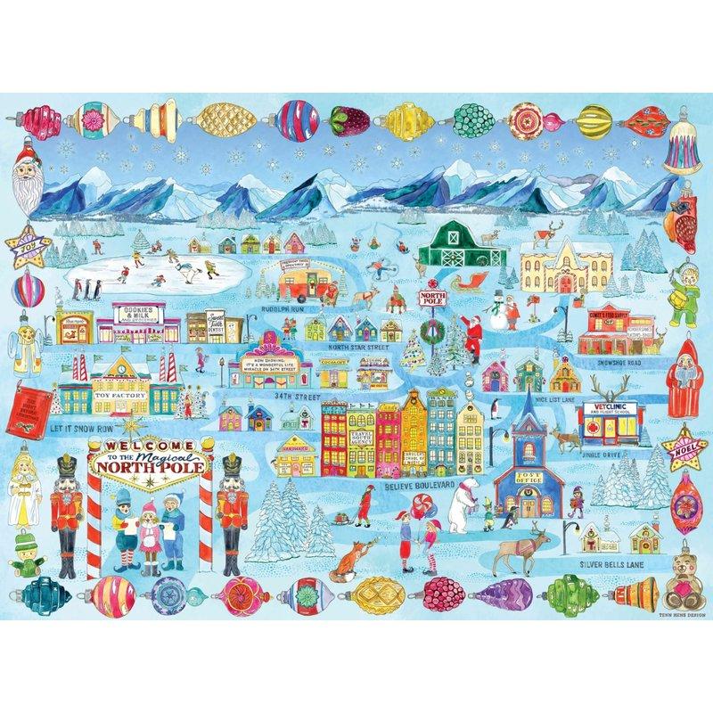 True South Puzzles True South Puzzle Santa's Hometown
