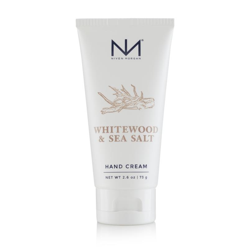 Niven Morgan Whitewood & Sea Salt Hand Cream 2.6 oz.