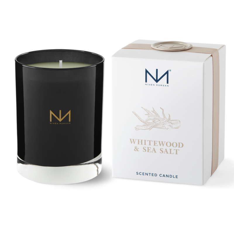 Niven Morgan Whitewood & Sea Salt Candle