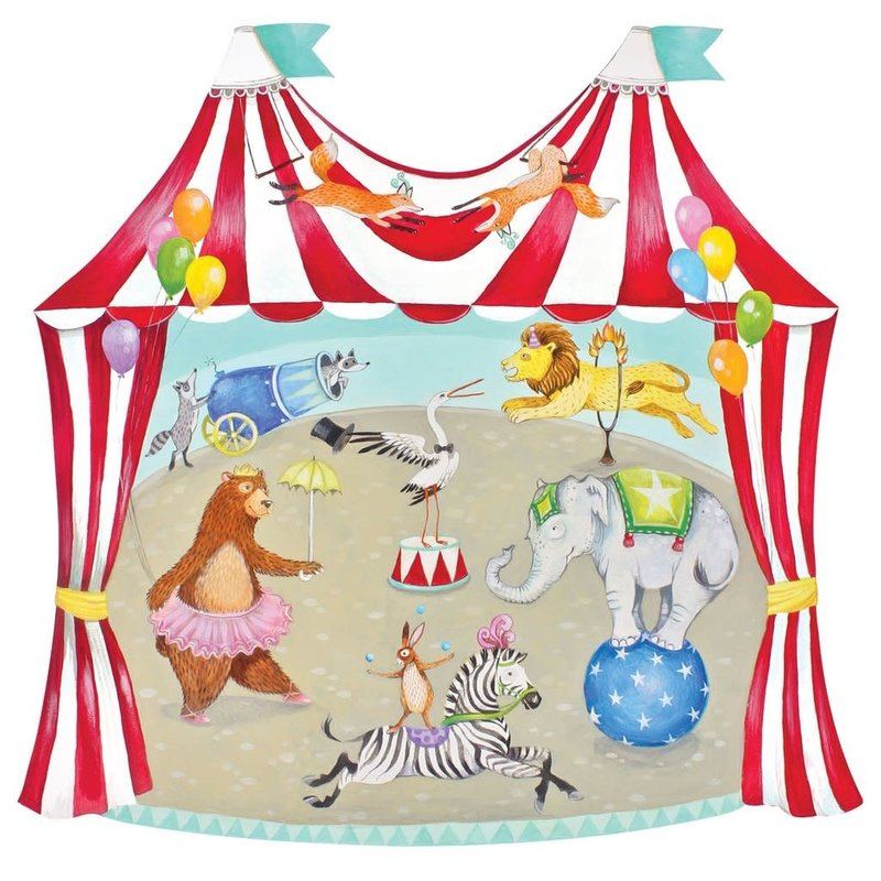 Hester and Cook Die Cut Circus Tent Placemat- 12 sheets