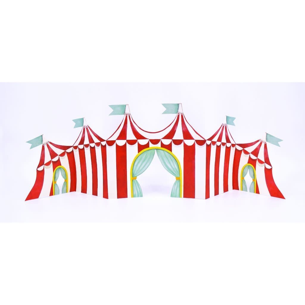 Hester and Cook Circus Tent Centerscape