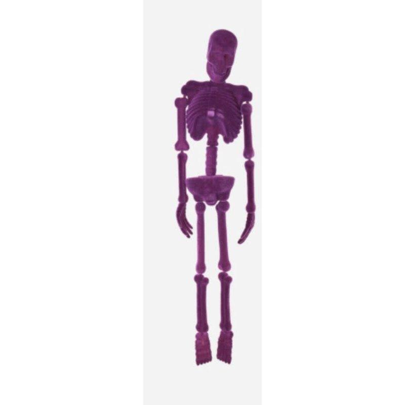 One Hundred 80 Degrees Flocked Skeleton 66'' Purple