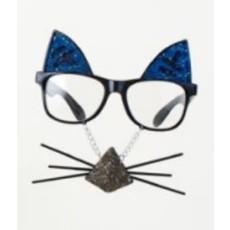 One Hundred 80 Degrees Blue Cat Glasses