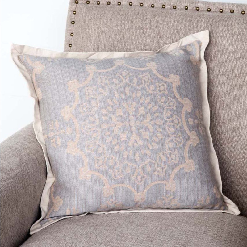 Park Hill Edge Hill Down Pillow Weathered Blue