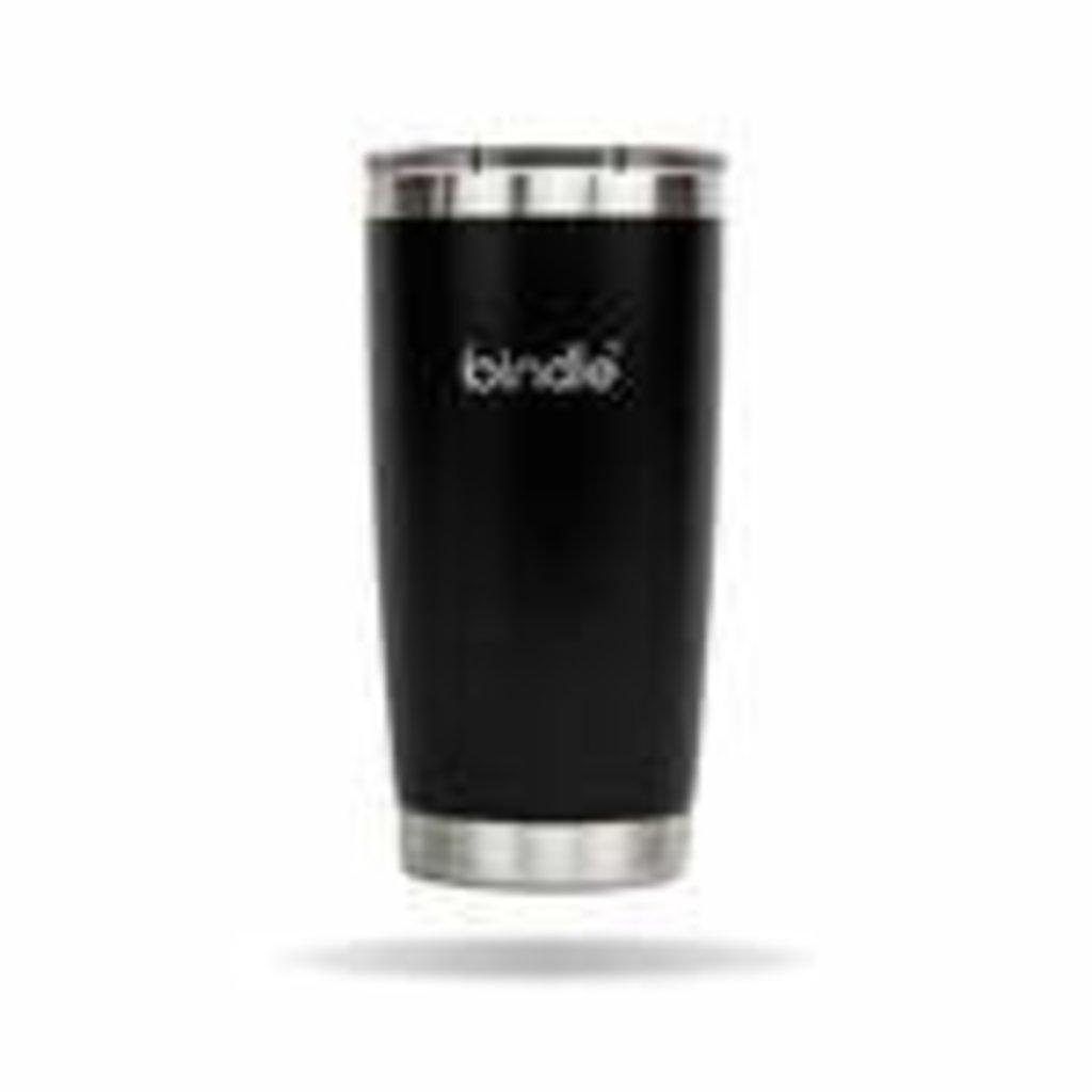 Bindle Bottle Black Tumbler 18oz
