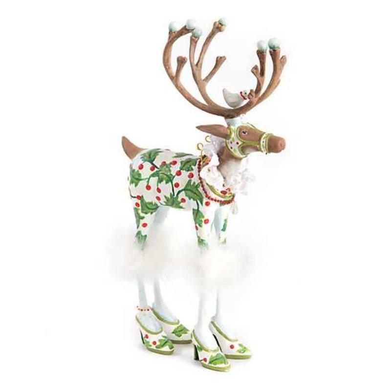 Patience Brewster by Makenzie Childs Patience Brewster Dash Away Away   Vixen Reindeer Figure