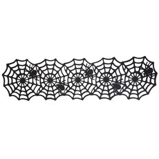 """Two's Company """"Oh What a Tangled Web"""" Spider Table Runner"""