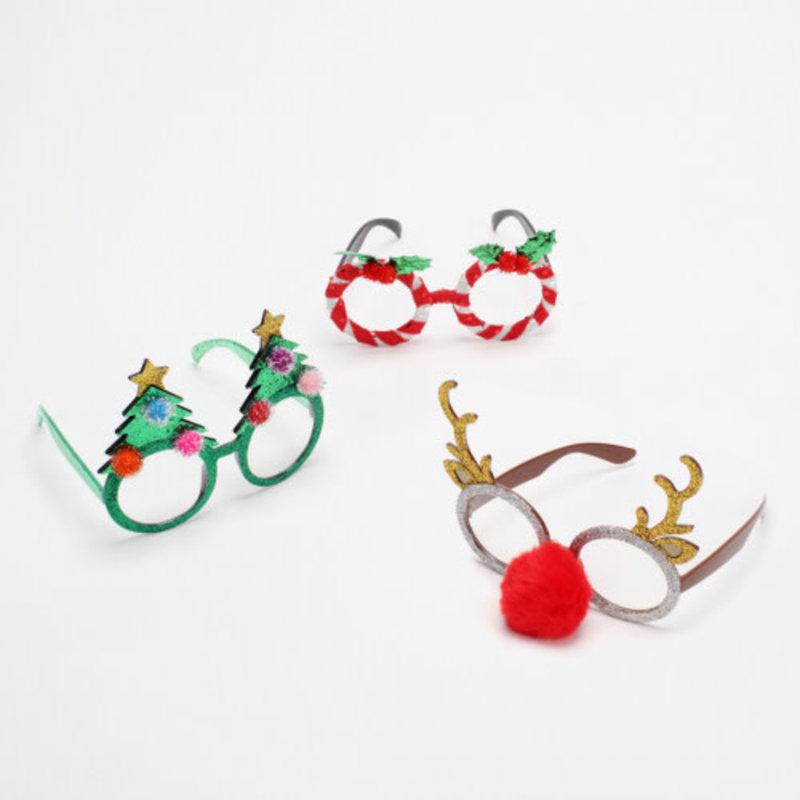 """One Hundred 80 Degrees Holiday Glasses, PVC, 5.5"""""""