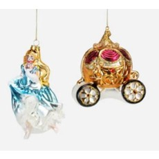 One Hundred 80 Degrees Cinderella Themed Ornament