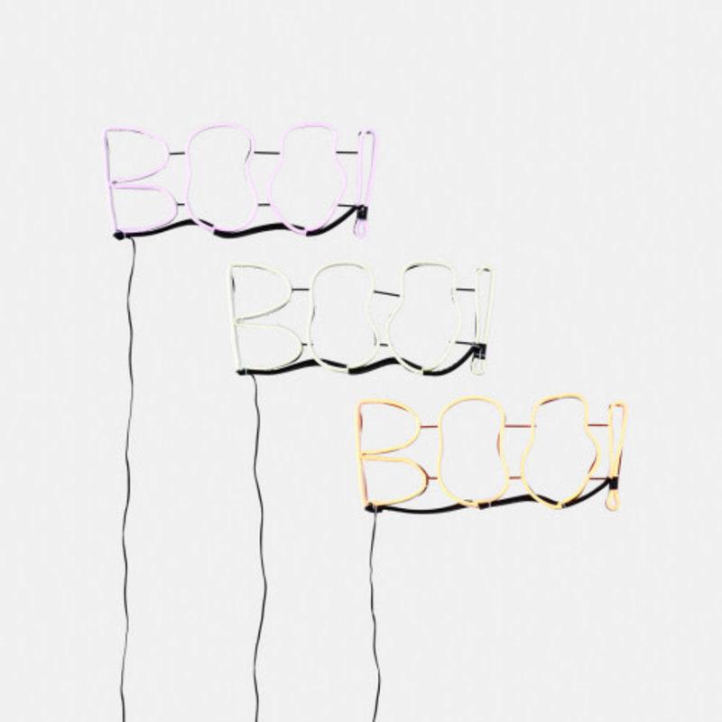 """One Hundred 80 Degrees """"BOO"""" LED Sign, 17''"""