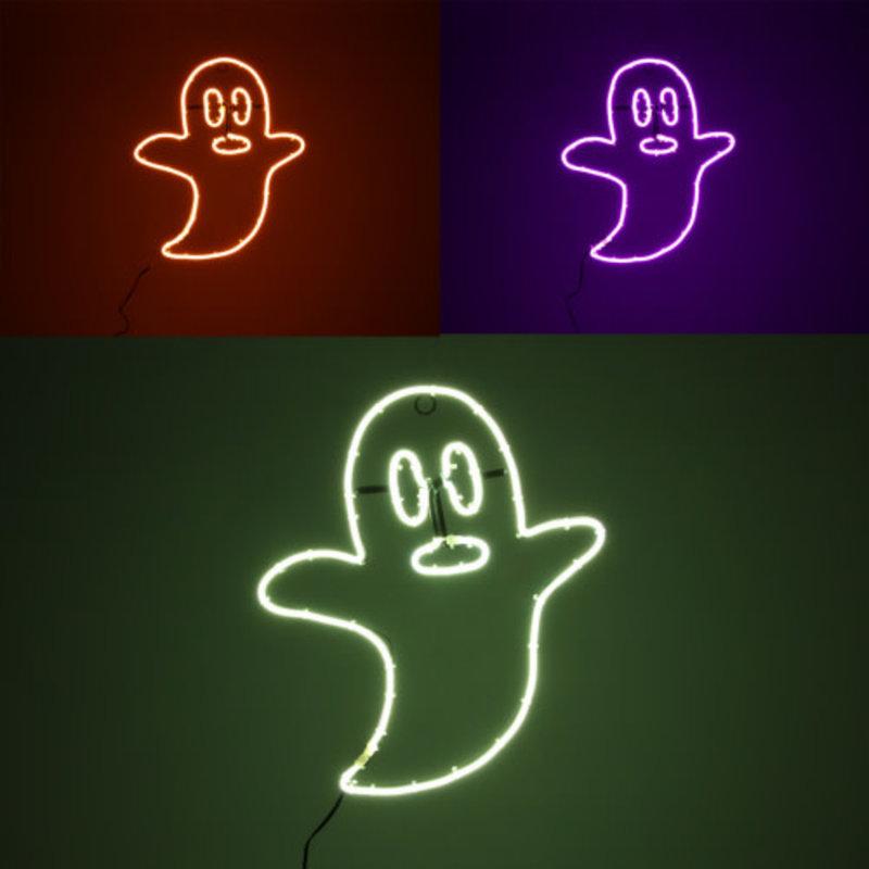 One Hundred 80 Degrees Ghost Neon Light