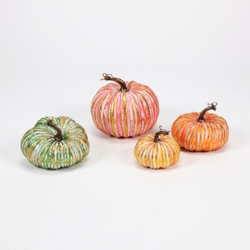 One Hundred 80 Degrees Pumpkin, Styro