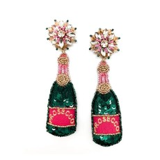 Allie Beads Allie Beads Prosecco Earrings