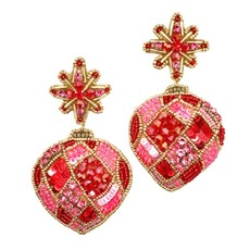Allie Beads Allie Beads Holiday Ornament Earrings