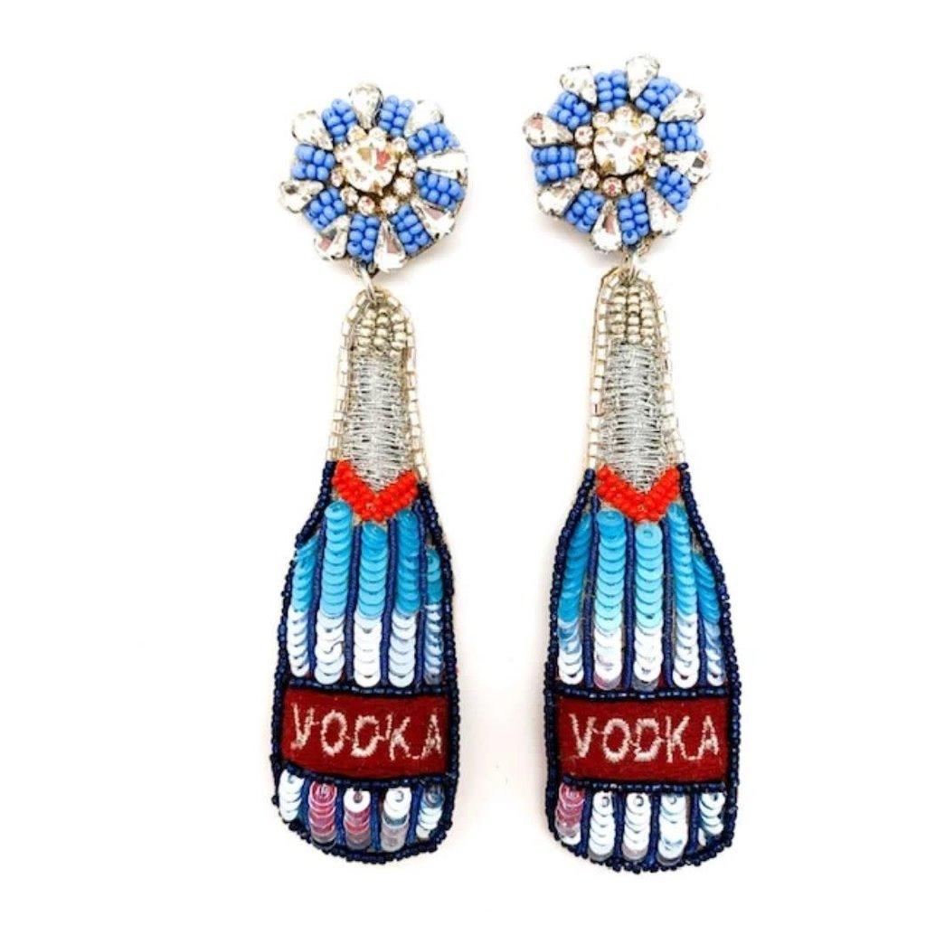 Allie Beads Allie Beads Vodka Earrings