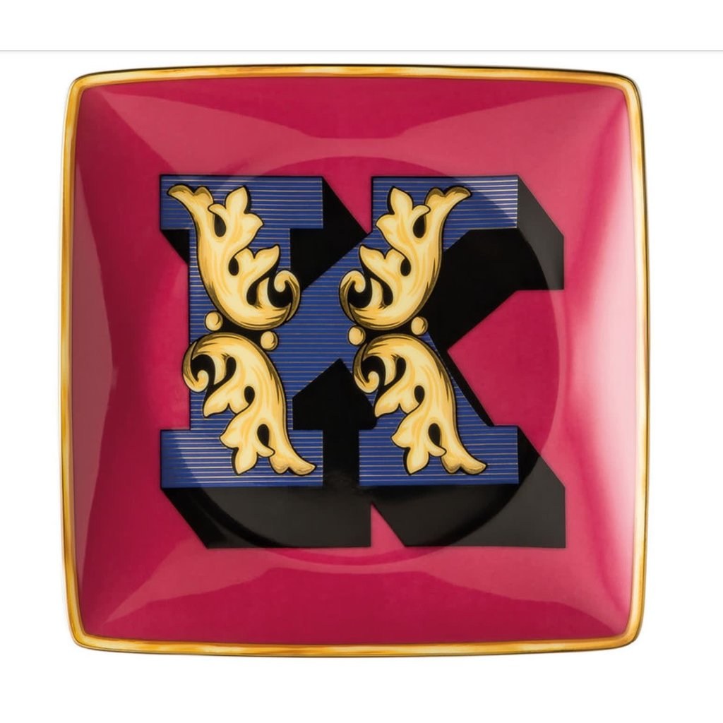Versace Alphabet Canape Dish K