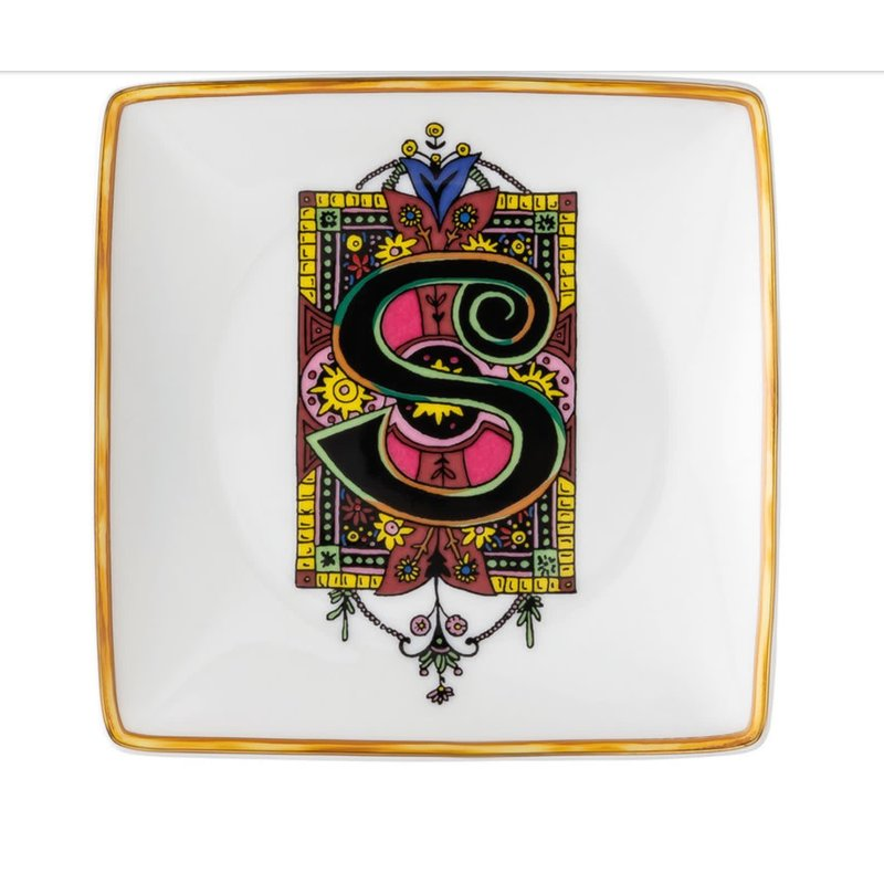 Versace Alphabet Canape Dish S